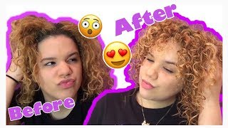 How to wash & style curly hair | Curlyyheadlanny