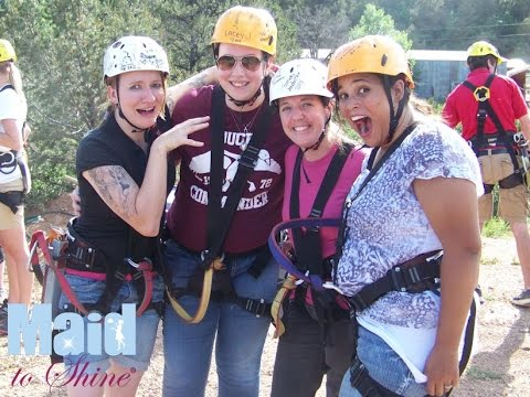 Maid to Shine Zip Line Event