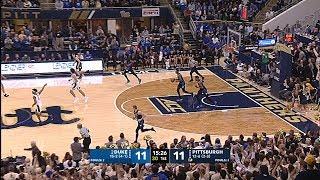 Men's Basketball   Pitt vs. No.2 Duke Highlights