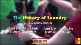 'The History of Laundry - PSU THEATRE PROMOTION