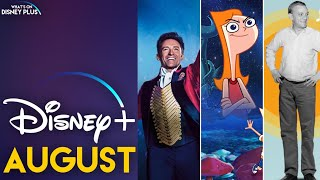 What's Coming To Disney+ In August