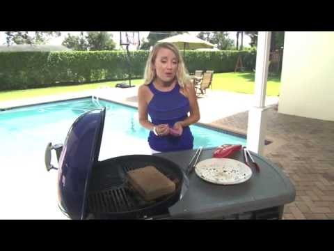 Grilled Spatchcocked Chicken with Jerk Seasoning Paste by Grill Girl Robyn Lindars