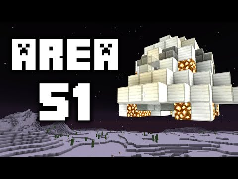 I snuck into Area 51 in Minecraft