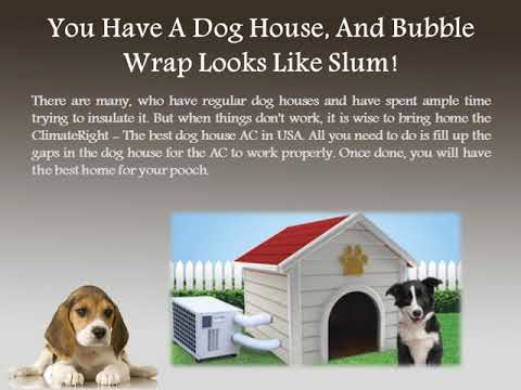 Regular Insulated Kennels Or Dog House AC In USA What's Apt