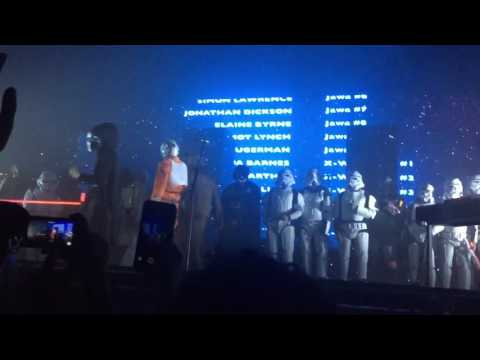 The 1975 Star Wars Ending/Bows Halloween Pittsburgh PA