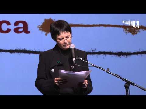 Dilluns de poesia a l'Arts Santa Mònica amb Chantal Maillard