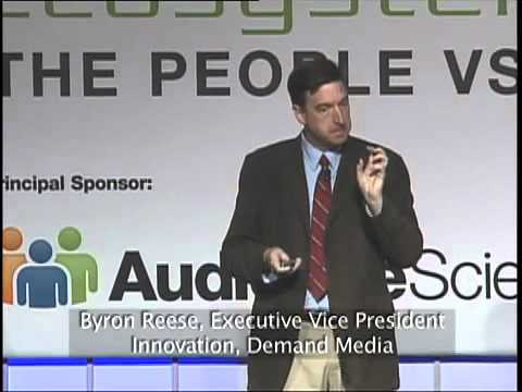 Byron Reese Listens to the Internet at the 2011 IAB Annual ...