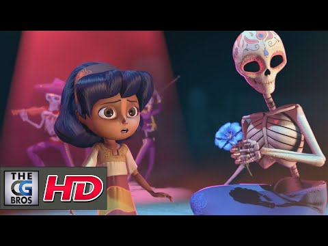"**Award Winning** CGI 3D Animated Short Film: ""Dia De Los Muertos"" - by Team Whoo Kazoo 
