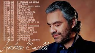 Andrea Bocelli Greatest Hits - The Best Of Andrea Bocelli