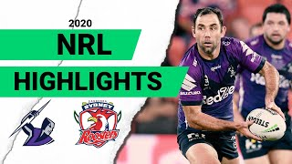 Storm v Roosters Match Highlights | Round 8 2020 | Telstra Premiership | NRL
