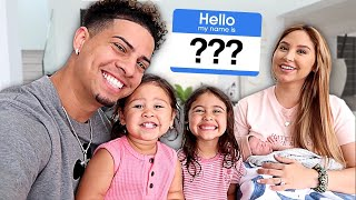 BABY NAME REVEAL!!! **IS THE ACE FAMILY NAME CHANGING?**