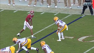 Alabama WR Devonta Smith vs LSU (Week 11)