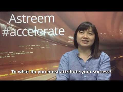 #accelerate with Serene Ang of Snackz It!