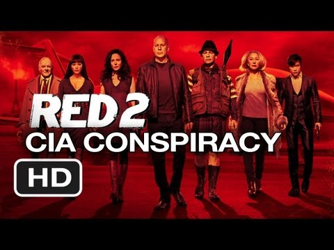 Red 2 CIA Conspiracy Discussion (2013) - Bruce Willis, Helen Mirren Movie HD