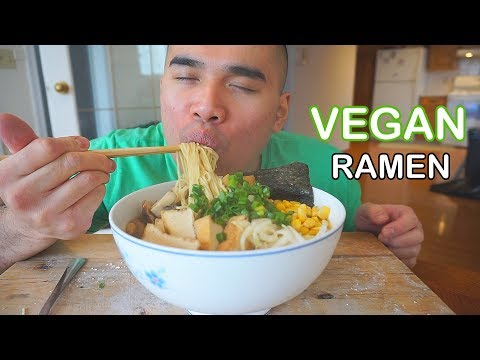 How to make VEGAN RAMEN