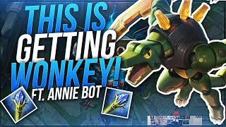 THIS IS GETTING WONKEY | Dyrus Ft. AnnieBot