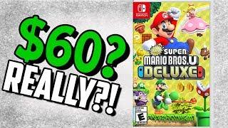New Super Mario Bros. U Deluxe Rant
