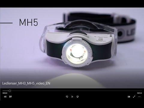 Ledlenser® MH3 LED Head Torch - Grey