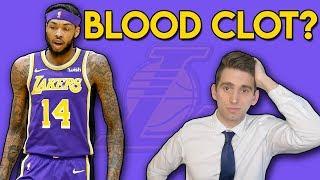 Brandon Ingram BLOOD CLOT (DVT) - Chris Bosh All Over Again?   A Doctor's Take