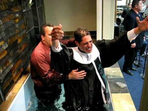 The Baptism of Bro. Eddie
