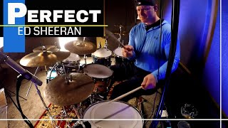 Ed Sheeran Perfect Drum Cover (High Quality Audio) ⚫⚫⚫