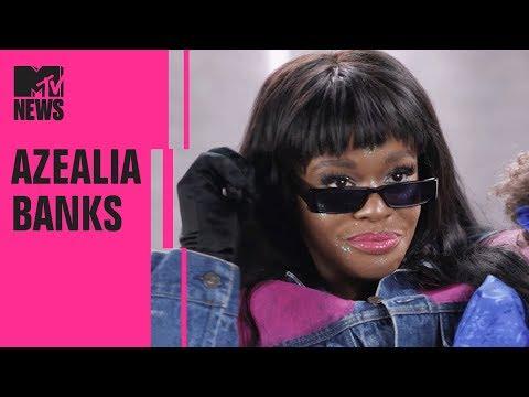 Azealia Banks on the Origins Of 'Anna Wintour' & Her Seapunk Aesthetic   MTV News