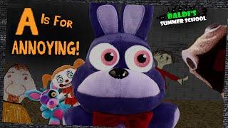 Baldi's Summer School - A is for ANNOYING!!!!