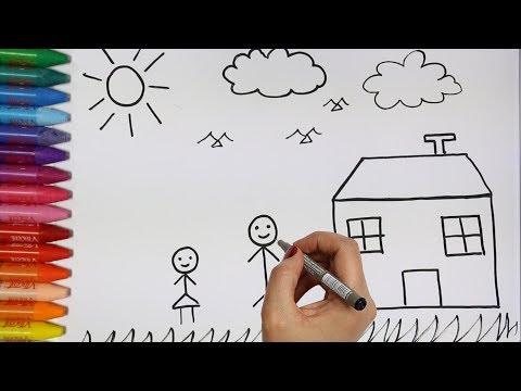 Menggambar Rumah Jamur Untuk Anak Videomoviles Com