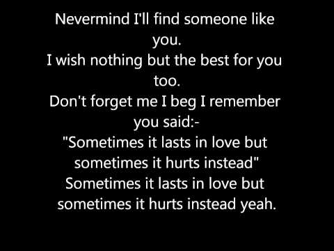 Adele - Someone Like You (Lyrics)
