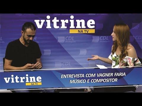 Imagem Entrevista com o músico e compositor Vagner Faria - VITRINE NA TV 11/12/2018