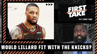 Perk doesn't think Damian Lillard and the Knicks are a good fit   First Take