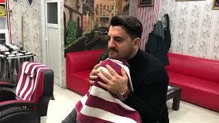 Asmr Massage 7,000 subscribers  Thanks(beard cut)(sheet washing)(Magic massage)(sakal traşı)