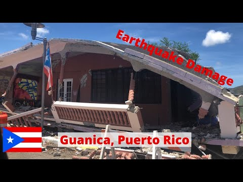 Guanica Earthquake Damage | Disaster in Puerto Rico