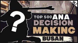 mL7 | ANA DECISION MAKING | BUSAN (Overwatch Season 13 2018)
