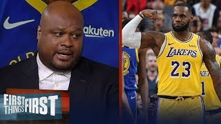 LeBron is still the best player in the league, not KD - Antoine Walker | NBA | FIRST THINGS FIRST