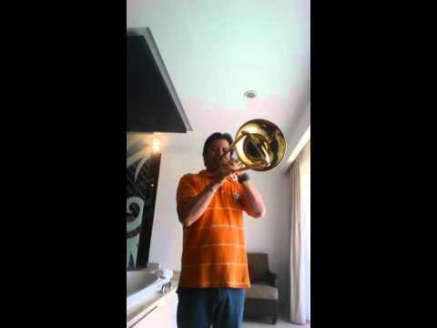 Ejercicios de notas agudas para trombon