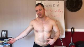 HOW I LOST FAT EATING BACON! - 30 DAY BACON DRY FAST CHALLENGE RESULTS! - DAY #30