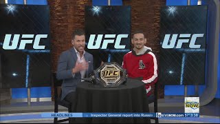 UFC champ Max Holloway visits Las Vegas Now