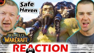 WoW REACTION - Safe Haven Cinematic trailer