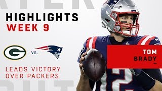 Tom Brady's 294 Yards & 1 TD in Victory Over Green Bay