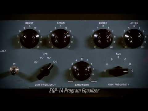 UAD Pultec Passive EQ Plug-In Collection Trailer