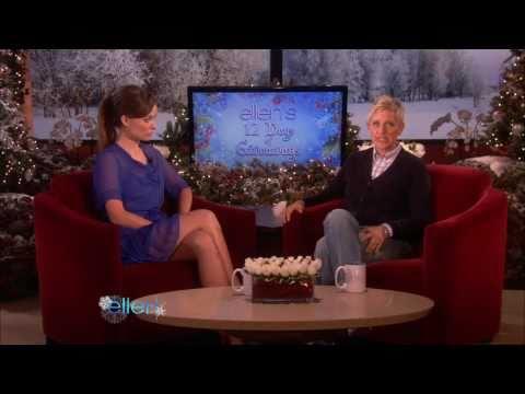 Olivia Wilde on Ellen, Olivia Wilde The Ellen DeGeneres Show 12/15/10
