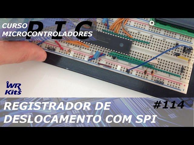 REGISTRADOR DE DESLOCAMENTO COM SPI | Curso de PIC #114