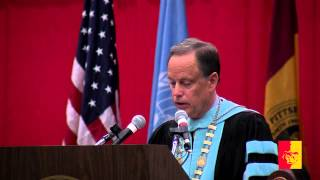 'SP 2015 Graduation Ceremony - President Scott's Address