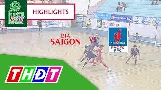 Highlights Futsal Truyền hình Đồng Tháp 2018 | Bia Sài Gòn sông Tiền - Đạm Cà Mau | THDT