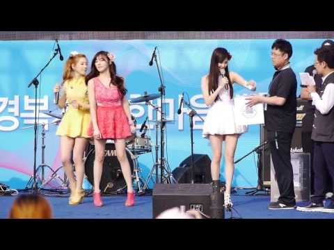 소녀시대.태티서(Taetiseo) - Baby Step + Twinkle _Kyungbock.High School.Event.FanCam. 130525