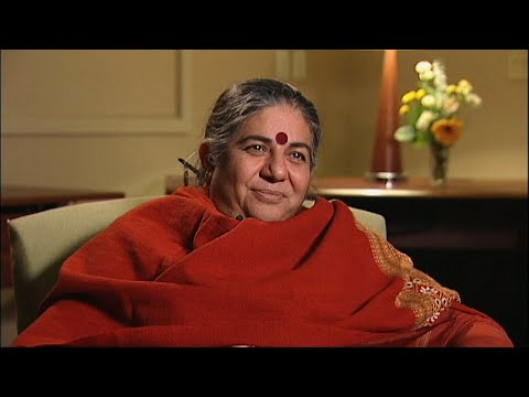 Vandana Shiva | On the Real Cause of World Hunger