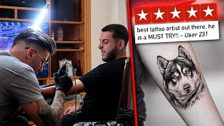 Getting a TATTOO by the #1 RATED TATTOO ARTIST....