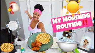 MY MORNING ROUTINE!!