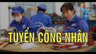 Việc làm LƯƠNG CAO - Tuyển GẤP 100 CÔNG NHÂN sản xuất và 10 nữ QC kiểm hàng Khu Chế Xuất Linh Trung